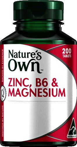 ZINC B6 AND MAGNESIUM