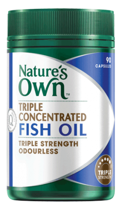 Triple Concentrated Fish Oil Capsules