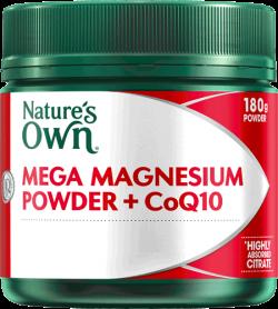Mega Magnesium Powder + CoQ10