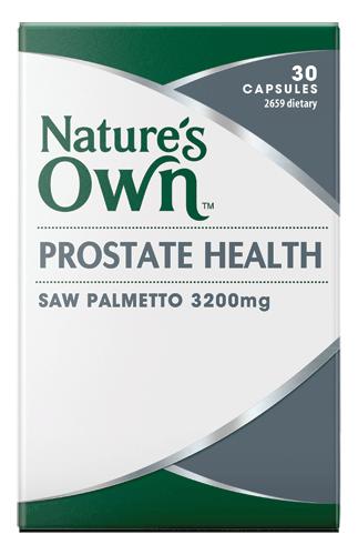 Prostate Health, Saw Palmetto 3200mg