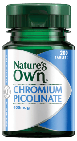 Chromium Picolinate 400mcg Tablets