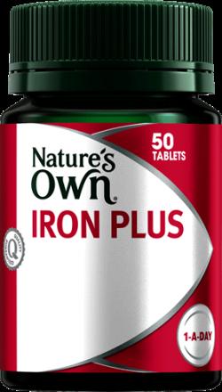 Nature's Own Iron Plus