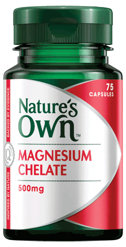 Magnesium Chelate 500mg