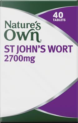 Nature's Own St. John's Wort 2700mg