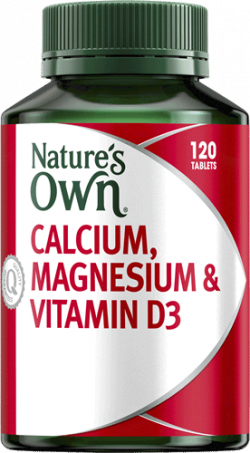 Nature's Own Calcium, Magnesium & Vitamin D3
