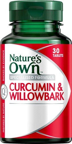 Curcumin and Willowbark