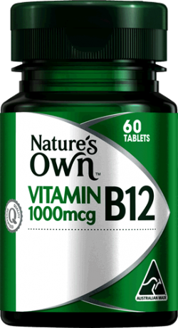 Nature's Own Vitamin B12 1000mcg